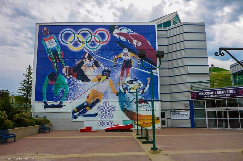 canada olympic park entrace