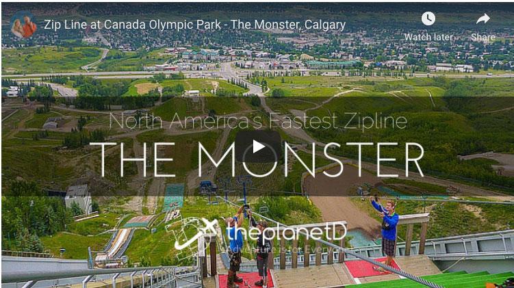 calgary olympic park | video