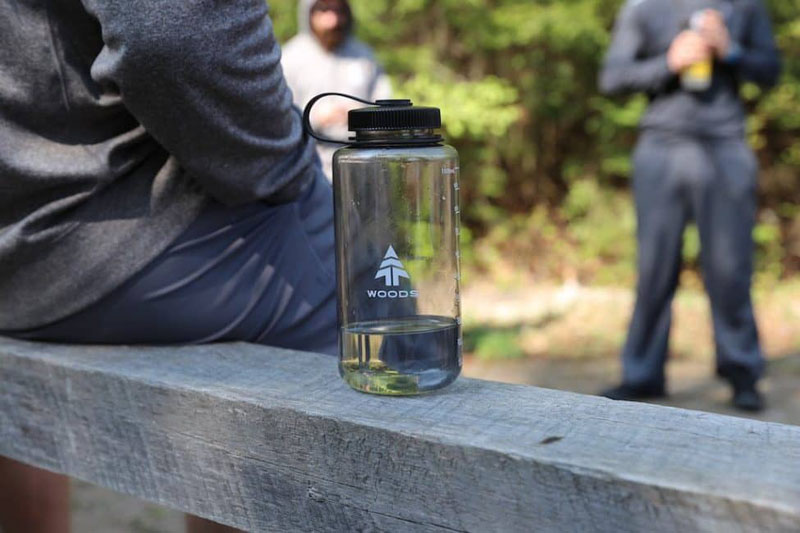 woods water bottle