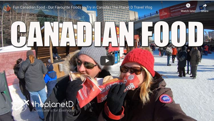 canadian food video