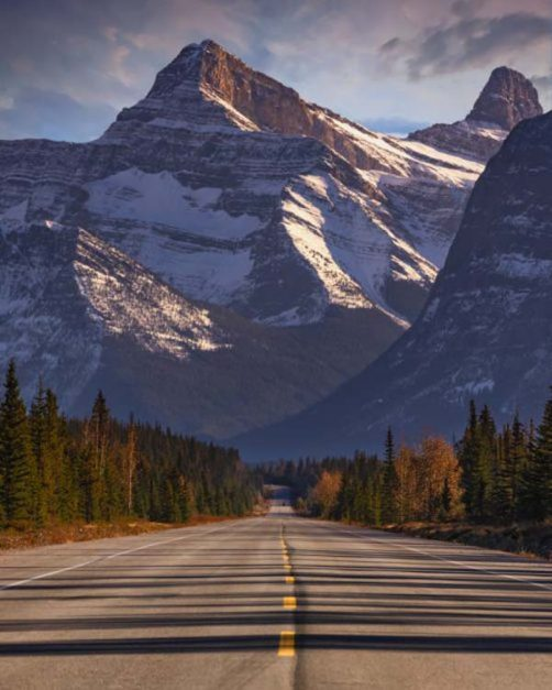 road trips in canada | icefields parkway
