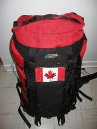canadian stereotypes backpack