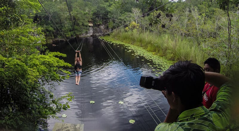 zipline cancun excursions