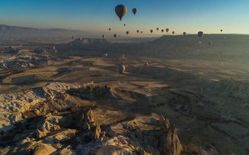balloons of Cappadocia