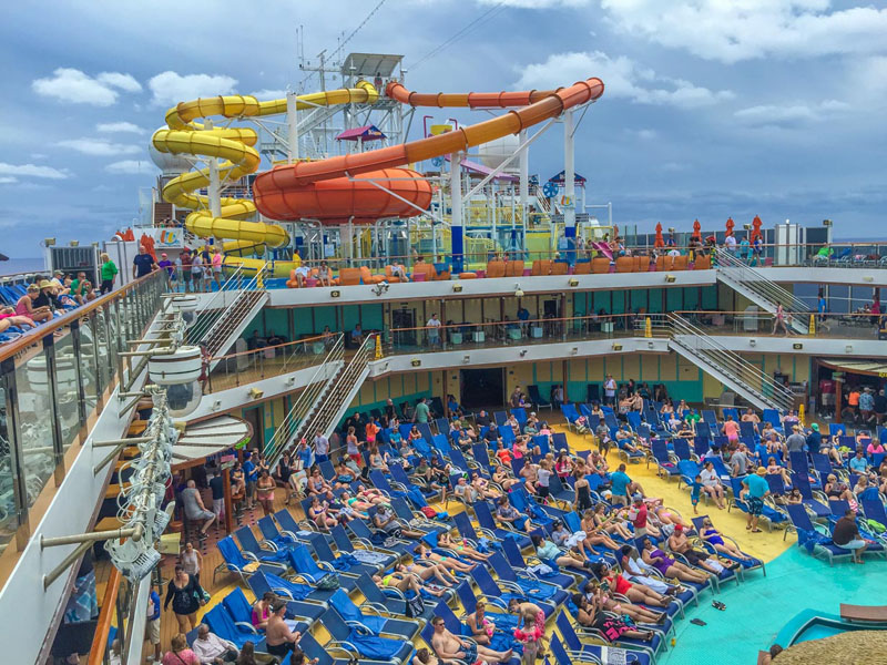carnival cruise adventures slide
