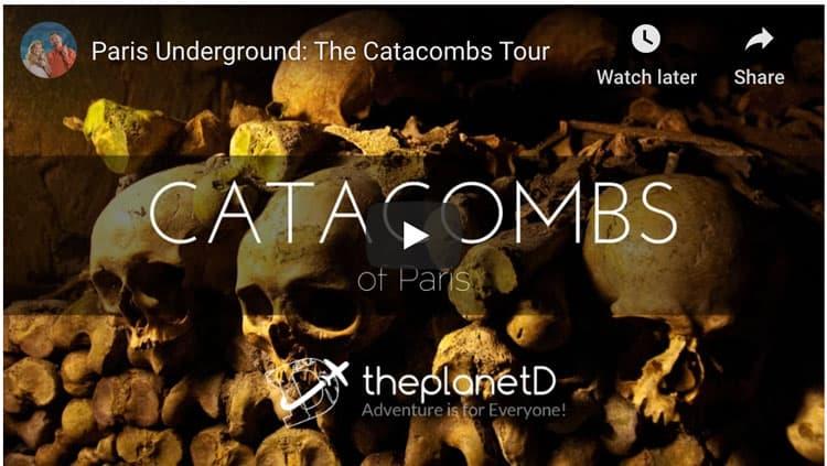 catacombs of paris video