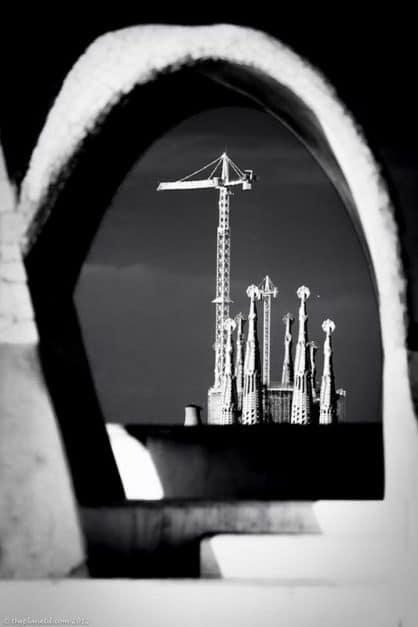 catalonia spain barcelona La Sagrada Família