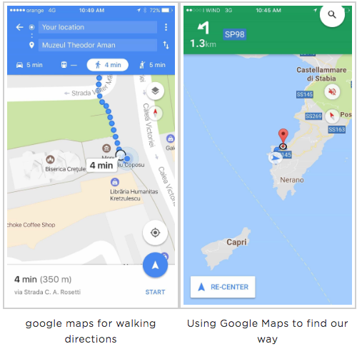 access google maps with unlimited data