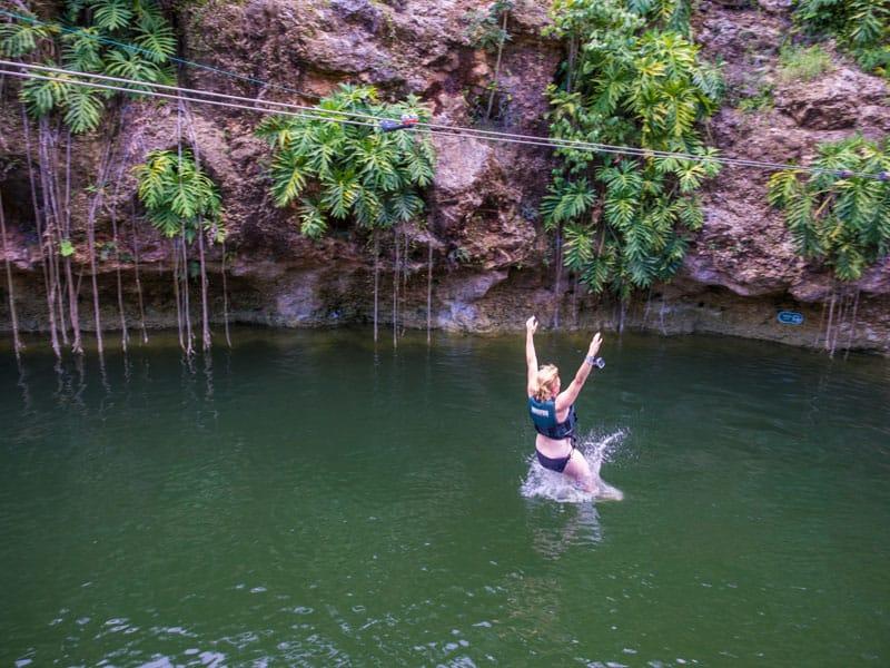 deb jumping