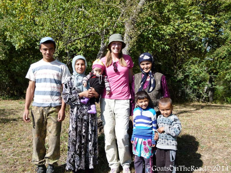 central asia travel family