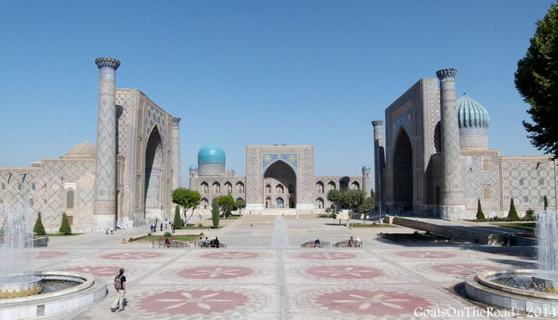 central asia travel registan