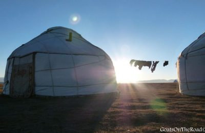 central asia travel yurts