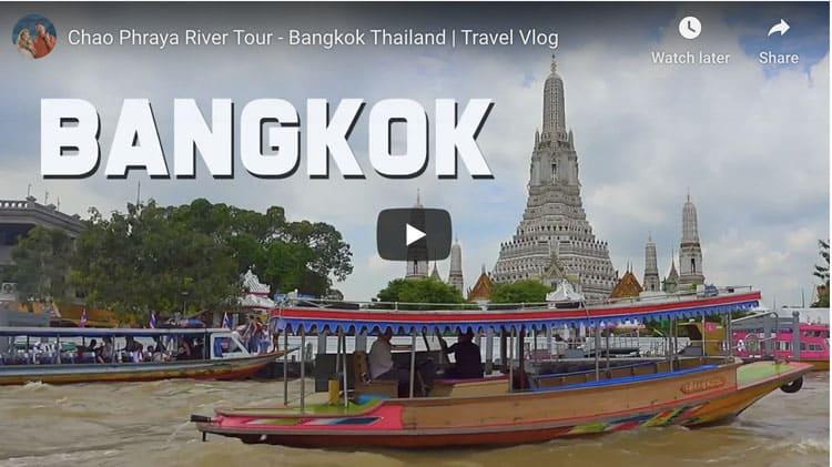 things to do in thailand chao phraya river bangkok