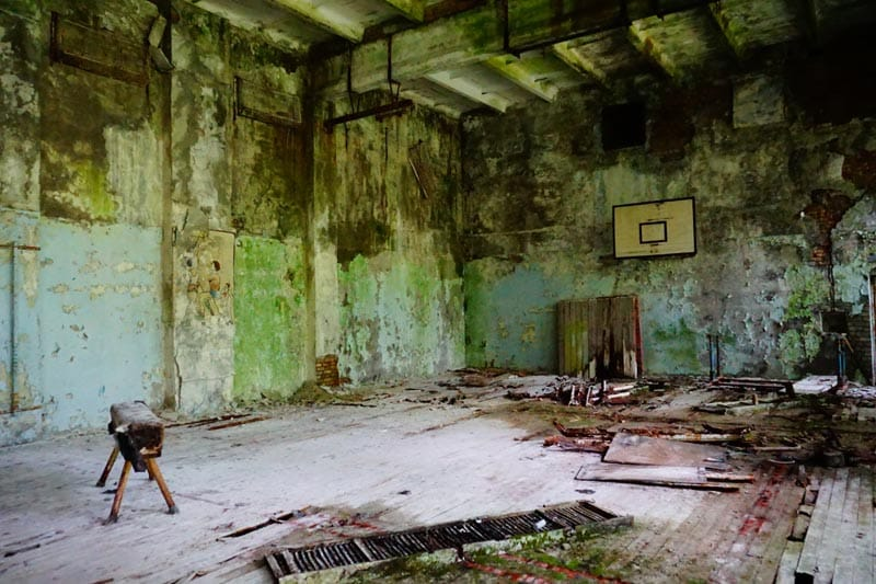 chernobyl disaster pictures gym