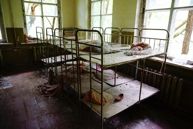 Chernobyl disaster Pictures Kindergarden
