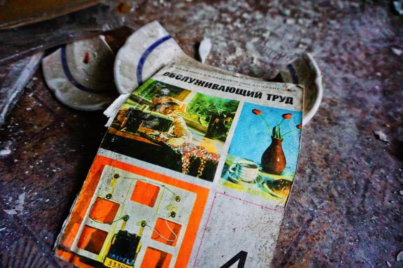 chernobyl disaster pictures book