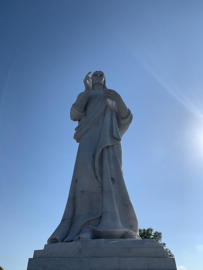 what to see in havana cuba christ the redeemer