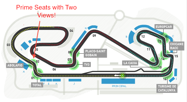 map of f1 spain