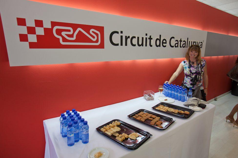 VIP section of Catalunya circuit