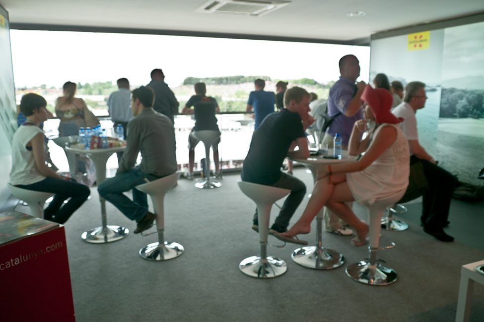 private suites at F1 Race
