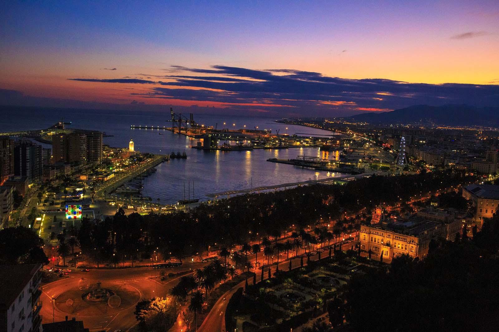 ciudades en españa malaga