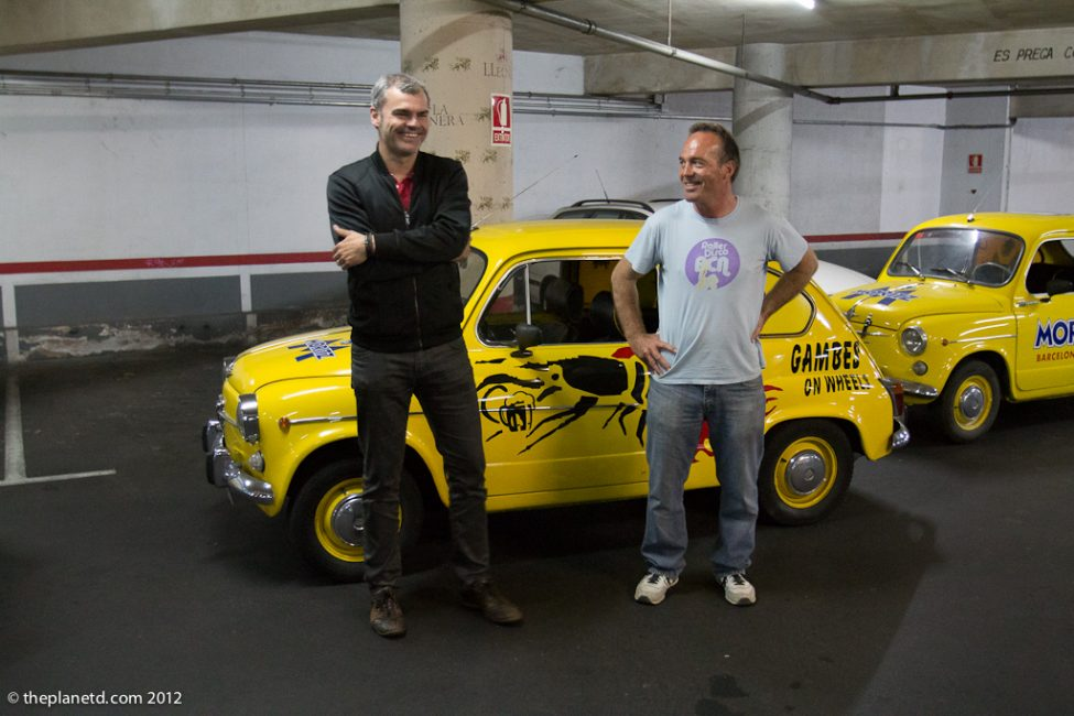 seat 600 and tour guides in Barcelona