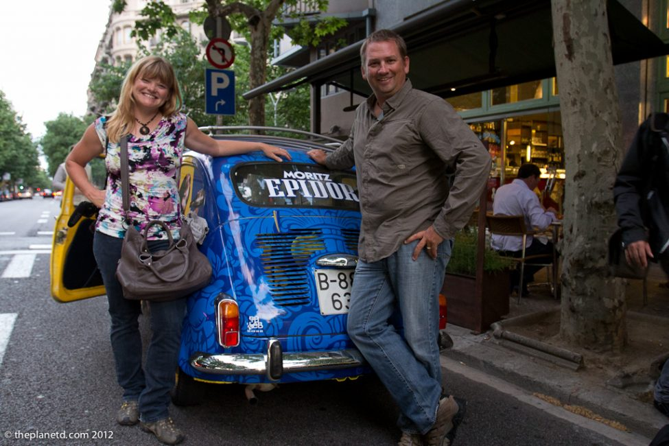 Adventure Couple with seat 600 in Barcelona Spain
