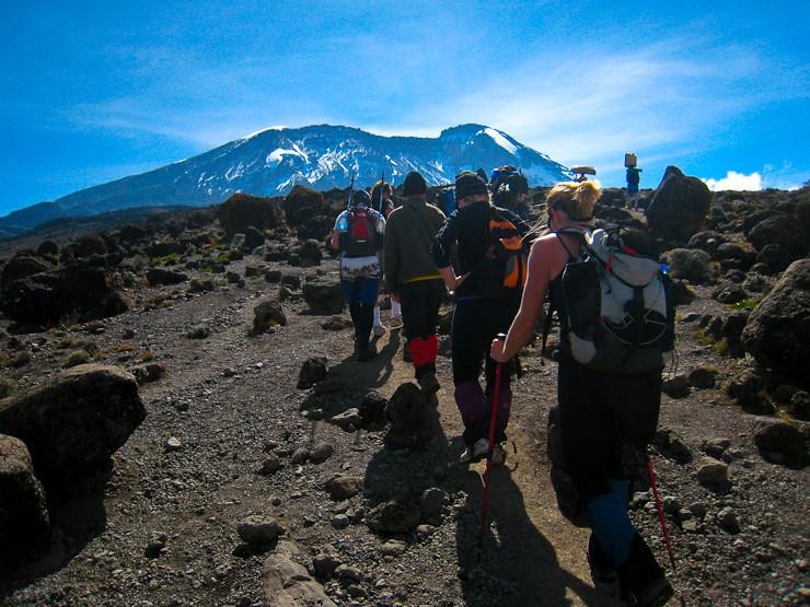 climb kilimanjaro group
