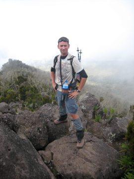 climb kilimanjaro hiker