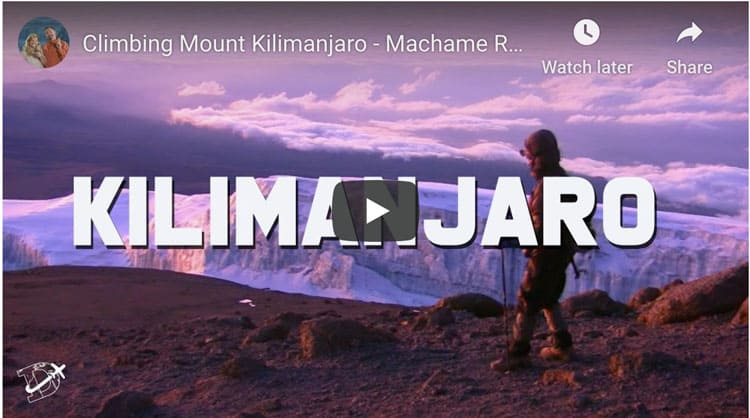 climb mount kilimanjaro video