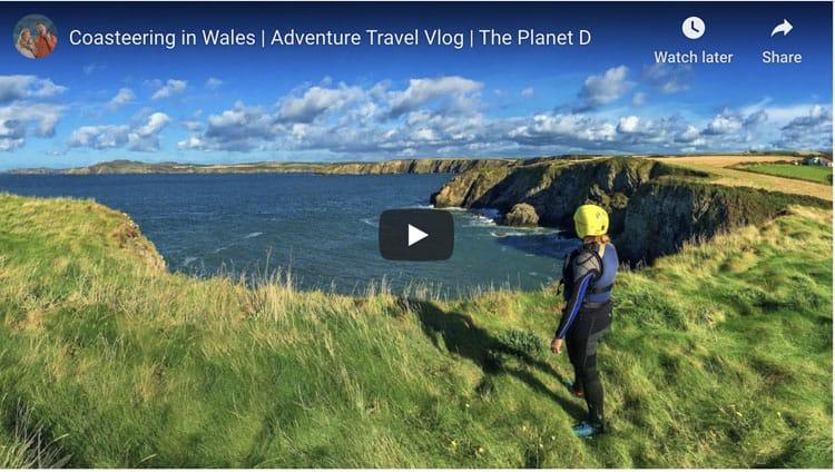 coasteering in wales video