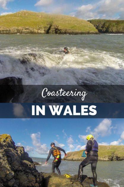 what is coasteering wales