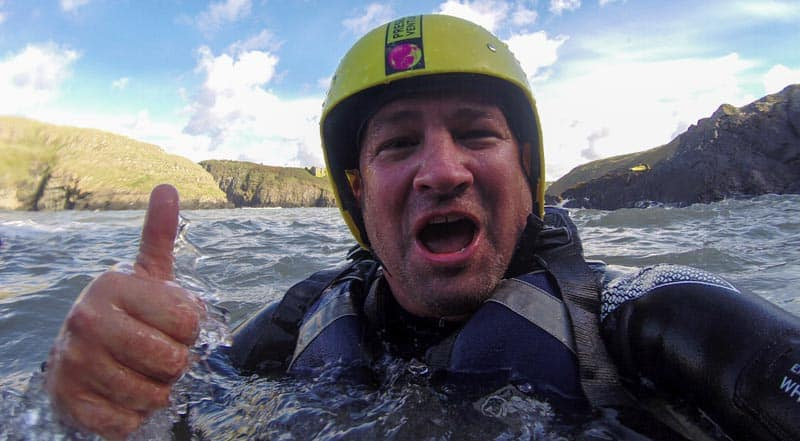 water adventures wales coasteering