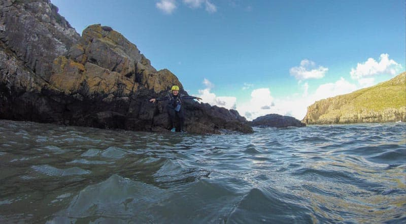weekend breaks in wales coasteering