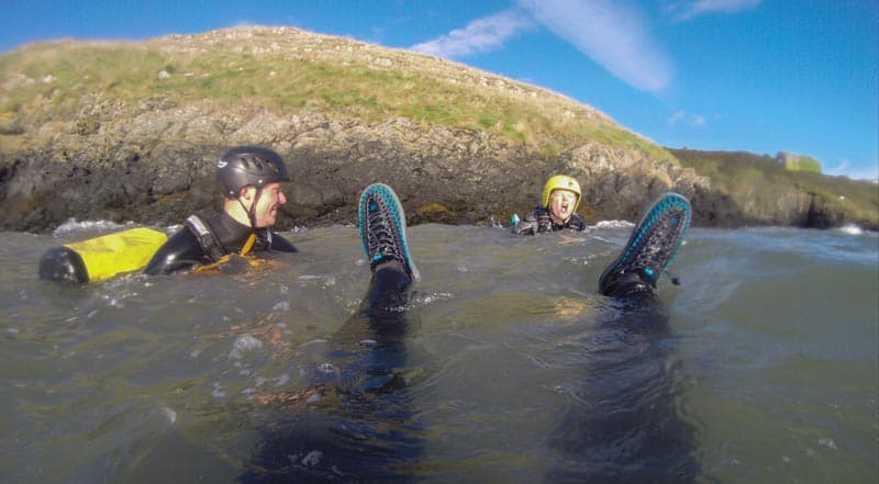 the ultimate adventure holiday Coasteering