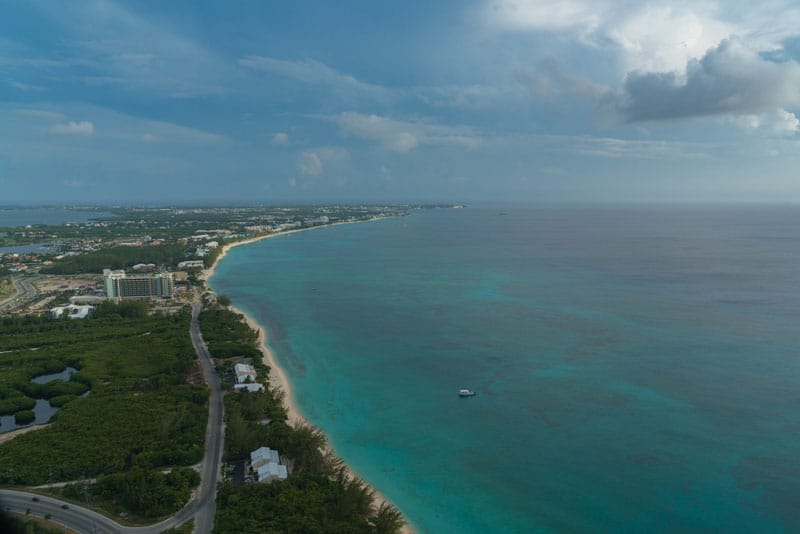coastline ocean grand cayman island
