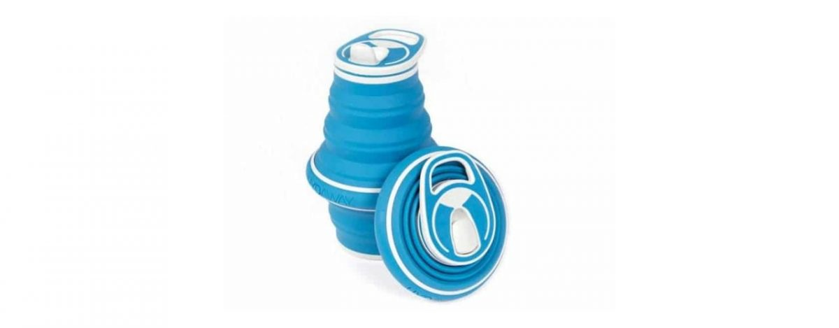 collapsible water bottle gift idea