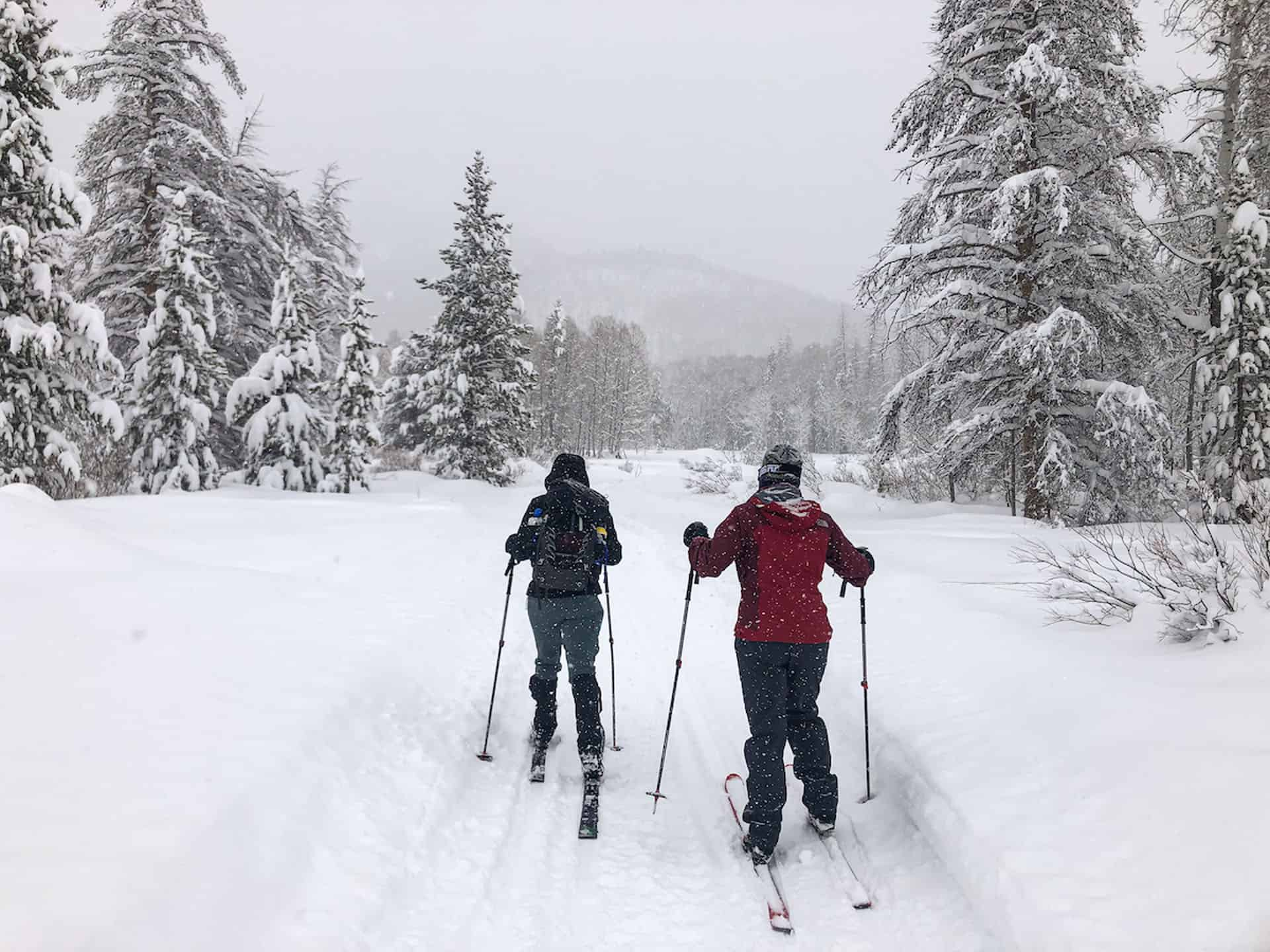 colorado in winter cross country skiing