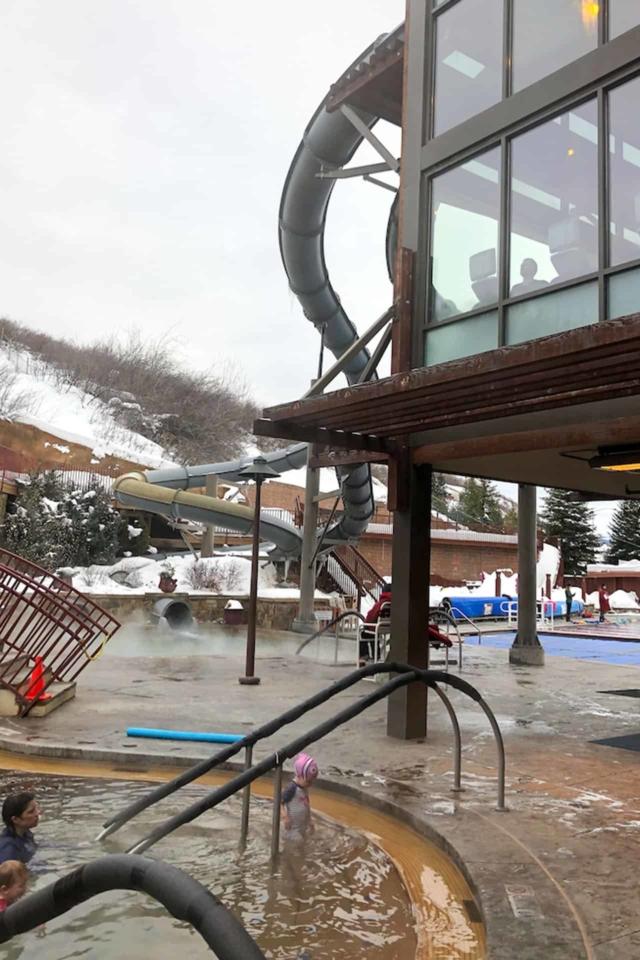 winter in colorado hot springs