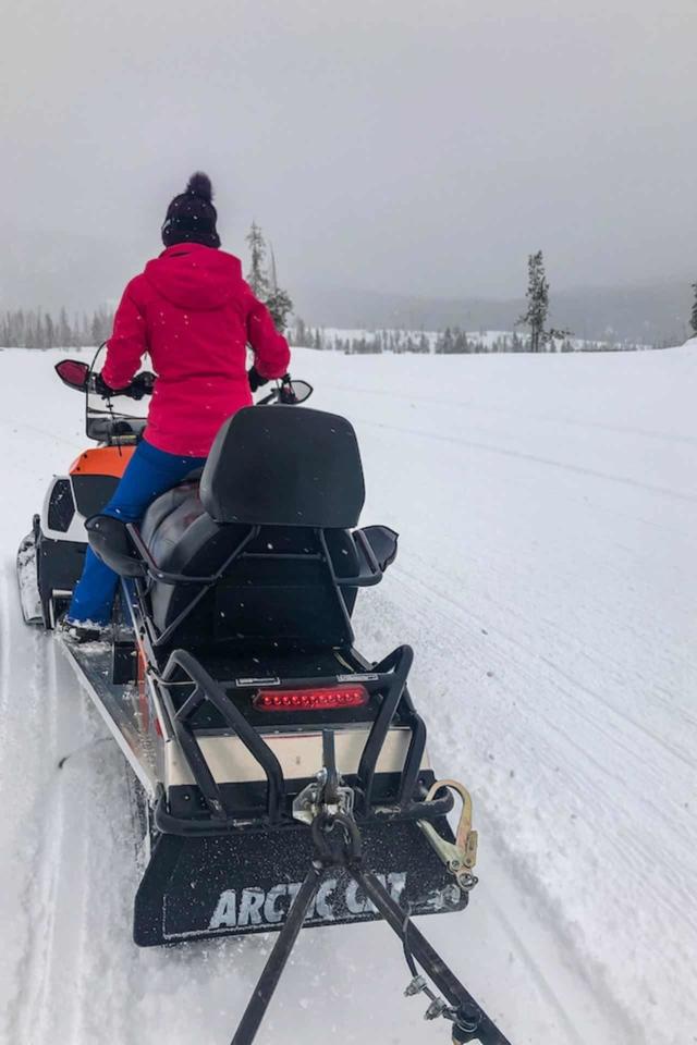snowmobiling in colorado winter