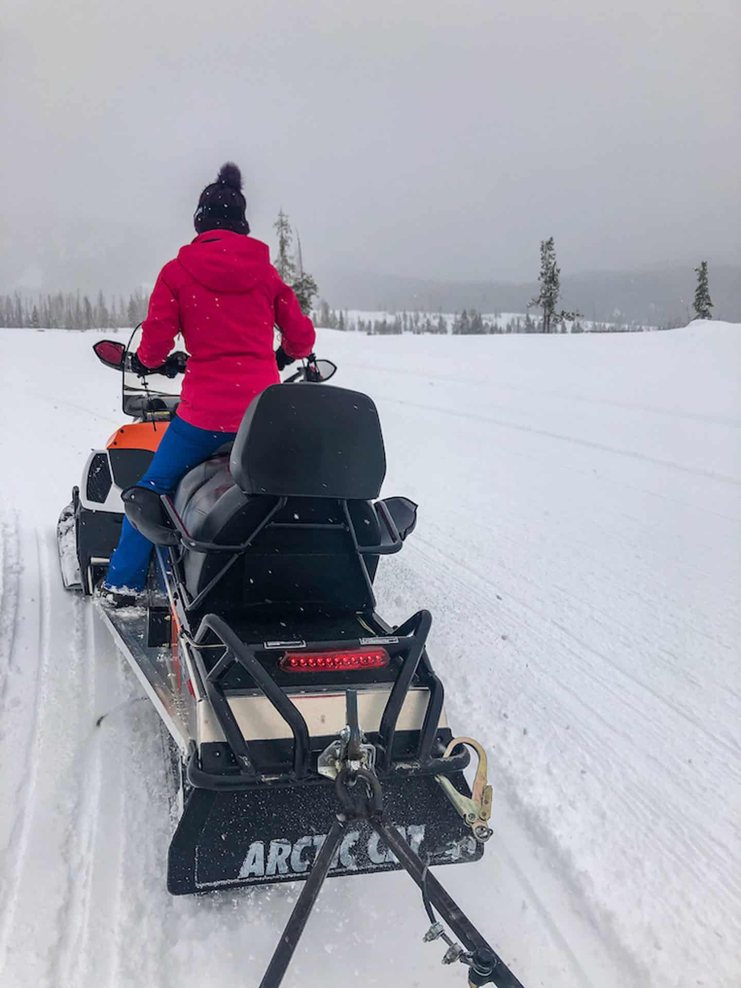 snowmobiling in colorado winter