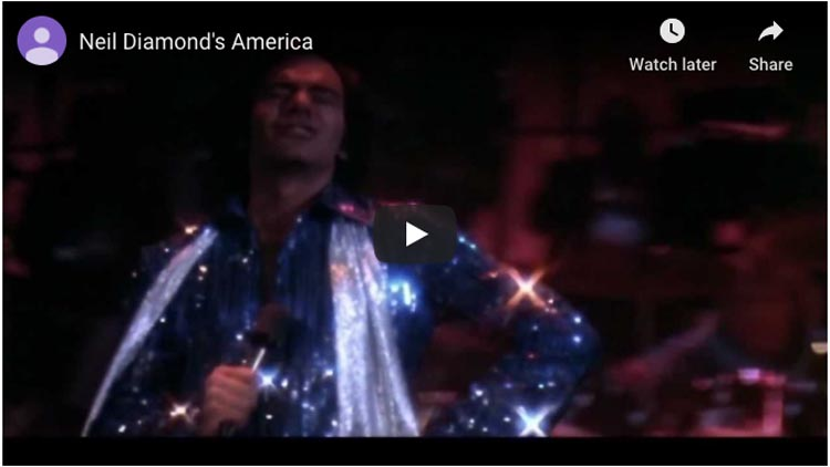 coming to america neil diamond