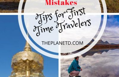 common travel mistakes made by first time travelers