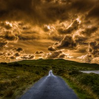 The Road to Killary Harbour in Ireland