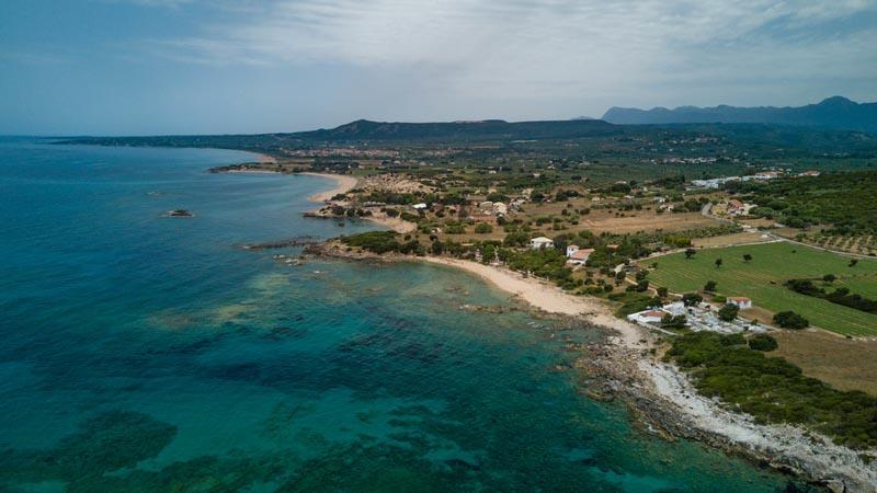 coastline costa navarino