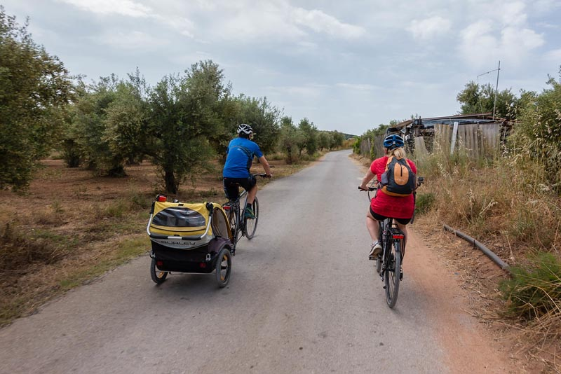 cycling costa navarino