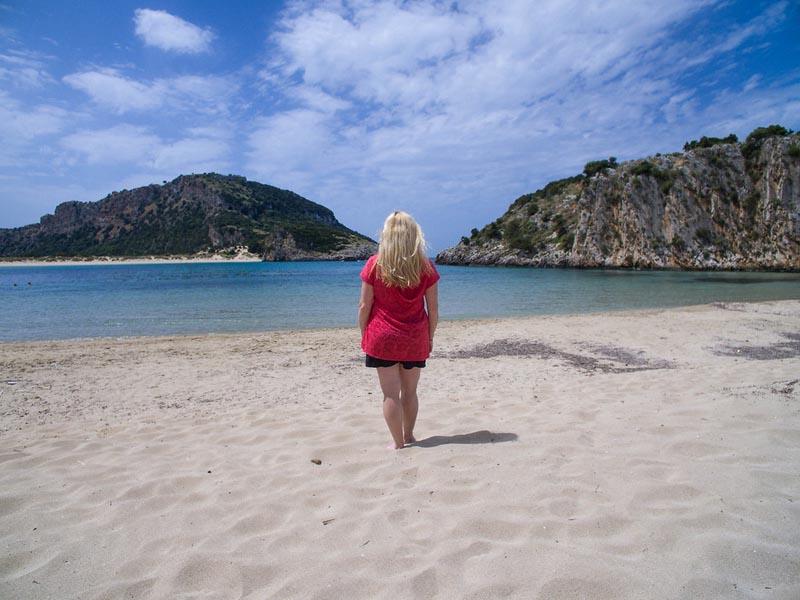 beach costa navarino