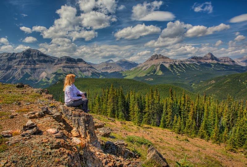 alberta itinerary   Cowboy trail mountains