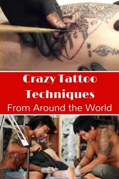 crazy tattoo techniques