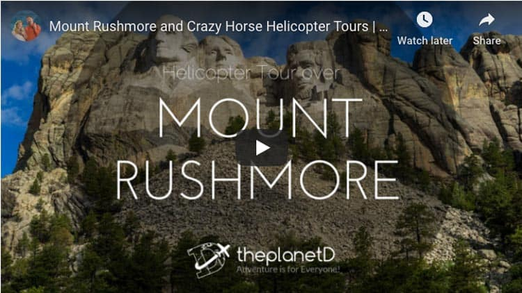 crazy horse and mount rushmore video
